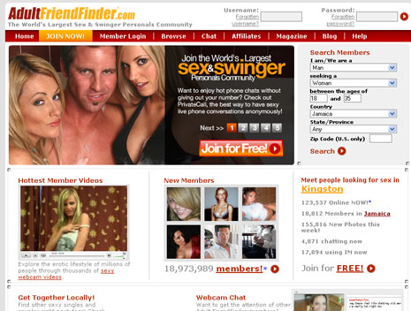 Free Adult Friend Finder Site Review
